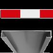 Schrikhekplank RVV BB16-1 C-profiel blokmotief