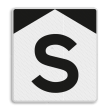 'S'-bord - RS 301 - Reflecterend