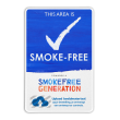 Informatiebord + eigen logo - Smoke-free Generation