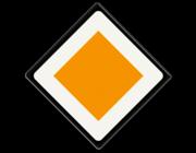 Voorrangsborden - B-serie