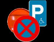 E serie: Parkeer- en stilstaanborden