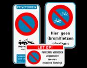 Parkeerborden verbod