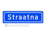 Straatnaambord BASIC