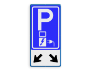 Parkeerborden elektrisch opl…