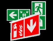 Veiligheidsborden (haaks)