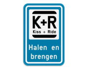 Kiss&Ride borden