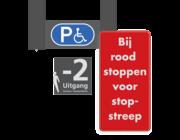 Parkeergarage bewegwijzering