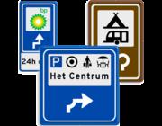 Routeborden BW serie