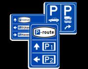 Parkeerroute borden