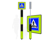 Voetgangers oversteek VOP