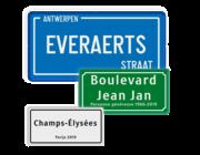 Straatnaambord (overig)
