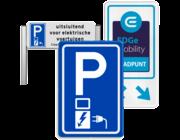 Parkeerborden elektrische auto