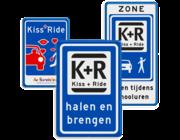 Kiss & Ride borden