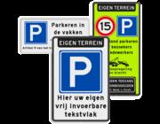 Parkeerborden (toegestaan)