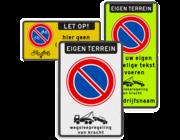 Parkeerborden (verboden)
