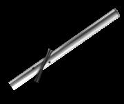 Verkeersbordpaal rechte buis - 1400mm boven de grond - Aluminium