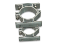 Rohrschellen doppelseitig (2er Set) Ø60 mm