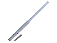 Rohrpfost Flaschenhals 1700 mm über Boden