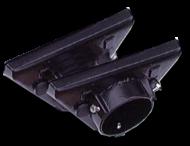 Dekselset verkeerslicht aluminium zwart gecoat