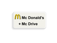Informatiebord FC Mc Donald's