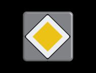 Verkeersbord MINI 300x300x28 - RVV B01
