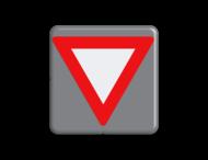 Verkeersbord MINI 300x300x28 - RVV B06