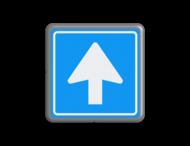 Verkeersbord MINI 300x300x28 - RVV C03