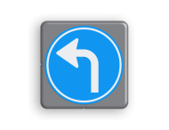 Verkeersbord MINI 300x300x28 - RVV D05l