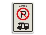 Verkeersbord RVV E201zb camper