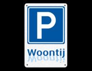 informatiebord ARV E04 - Woontij logo