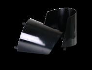 Zonnekap polycarbonaat zwart