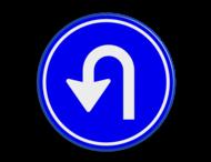Verkeersbord RVV D08 - Keren