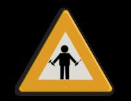Logobord PON-Equipment driehoek - Mechanic