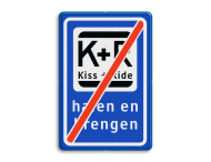 Verkeerbord RVV L52e KISS & RIDE - halen en brengen