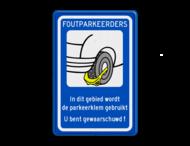 Parkeerbord RVV OV0412 - wielklem