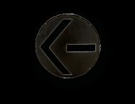 Sjabloon voor verkeerslicht Ø300mm - informatiebord