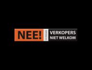 Informatiebord VLAK 260x50x2mm VERKOPERS - NEE!