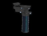 Grondpot PIPELOCK 600mm voor buis Ø 76 mm + sleutel