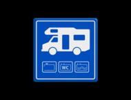 Parkeerbord Camper - loosplaats