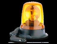 Zwaailamp 12V halogeen met krulsnoer en magneetvoet