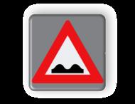 Verkeersbord MINI 300x300x28 - RVV J01