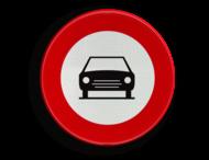 Verkeersbord België C5 - Gesloten voor voertuigen