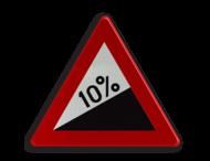 Verkeersbord België A5 - Steile helling