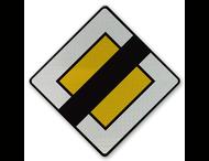 Verkeersbord België B11 - Einde van voorrangsweg