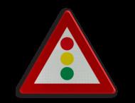 Verkeersbord België A33 - Verkeerslichten