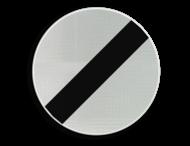 Verkeersbord België C46 - Einde van alle plaatselijke verbodsbepalingen opgelegd aan de voertuigen in beweging