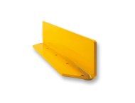 Stootrand, Stalen hoekplint 100x150x10mm