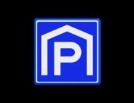 Verkeersbord RVV E105 - Parkeergarage