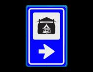 Bewegwijzering Recreatie  BW101 + pijlfiguratie