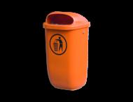 Afvalbak 50L Ovaal (Kunstof)